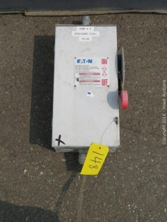 EATON Heavy Duty Safety Switch
