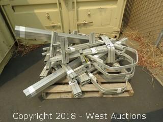(40+) Aluminum Scaffolding Frame Pieces