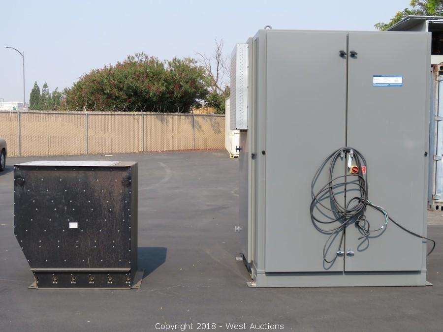 Resistive/Inductive Simplex Load Banks Auction in Woodland, CA