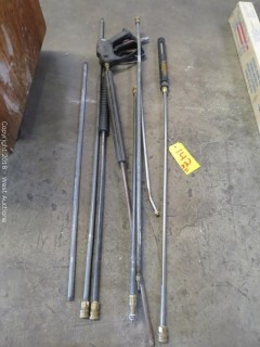 (2) Power Washer Guns and Attachments