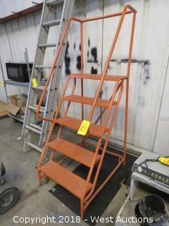 6' Portable Shop Ladder