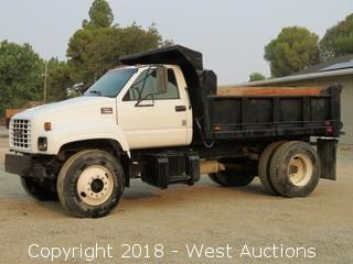 1999 GMC C7500 CAT Turbo Diesel Dump Truck