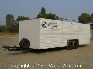 24' Toy Hauler Enclosed Trailer