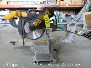 DeWalt DW708 Sliding Compound Miter Saw