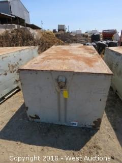 7' x 4' x 3 1/2' Deep Steel Gondola Grape Bin