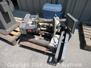 "(3) Wilton Drill Presses with 24"" Stands & Adjustable Tables"