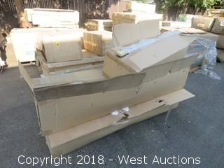 (3) Boxes Assorted Yosemite Mantel Components