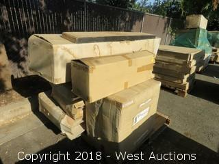 Pallet of Assorted Yosemite Mantel Components