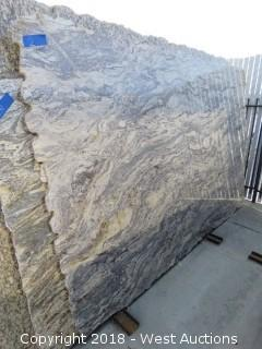 "Juperana Grey 117"" X 75"" 2cm Granite Slab"