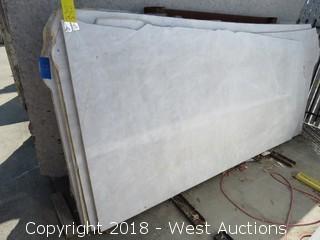 "Iceberg 105"" X 53"" 2cm Quartize Natural Slab"