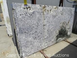 """Delerium 95"""" X 54"""" 2cm Sandstone Slab"""