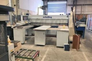 2001 Schelling FMH 330 Panel Saw (Disassembled)