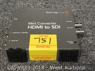 Blackmagic Design HDMI To SDI Mini Converter