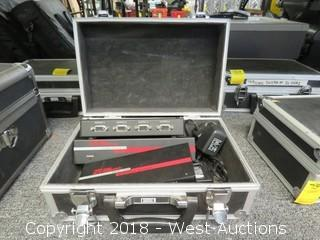 Hall Research Model 400 Quad Video Splitter In Road Case