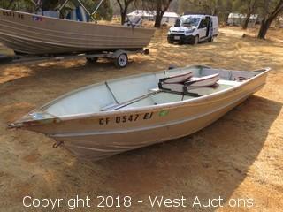 Valco 14' Boat - Aluminum
