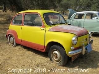Fiat 600 with 850 Motor