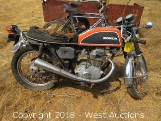 Honda CB 200 Motorcycle
