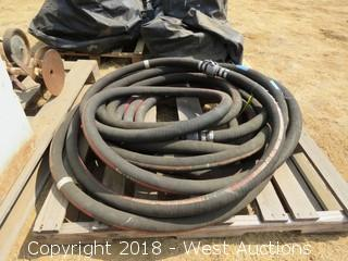 High Pressure Hose 60'-70' with Connectors