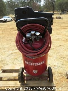 Craftsman 20 Gal Air Compressor with Hose