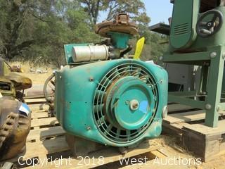 Onan 2 Cylinder Gas Motor