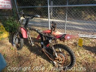 1980 Honda XL80S Motorcycle (For Parts)