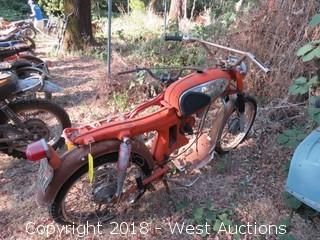 Honda S90 Motorcycle (For Parts)