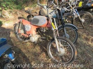Honda 90 C200 Motorcycle (For Parts)
