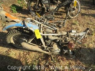 Honda SL175 Motorcycle (For Parts)