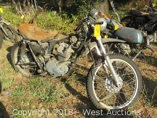 Honda XL350 Motorcycle (For Parts)