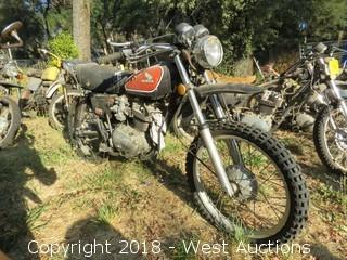 1975 Honda XL350 Motorcycle (For Parts)