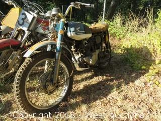 Honda CB175 Motorcycle (For Parts)