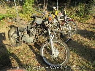 1988 Honda XL350 Motorcycle (For Parts)