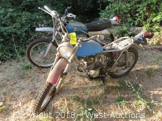 Honda SL100 Motorcycle (For Parts)