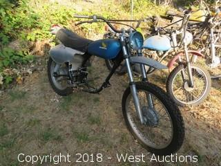 Honda XL350 Dual-Sport Motorcycle (For Parts)