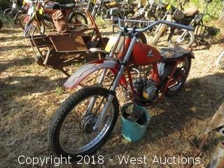 1977 Honda CT125 Motorcycle (For Parts)