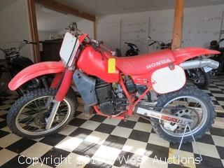 1984 Honda CR500 Dirt Bike