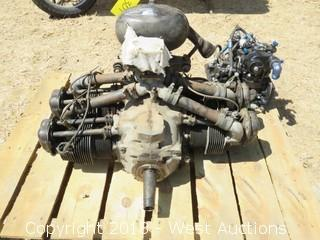 A-65 Continental Airplane Engine with PD12-K18 Pressure Injection Carburetor