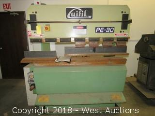 Guifil PE-30 Hydraulic Press Brake