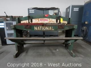 "National 16 Ga x 48"" Foot Shear"