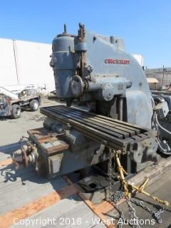 Cincinnati No. 4 Vertical Milling Machine