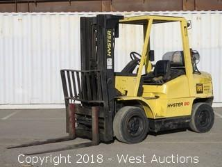 Hyster H80XM 7,000 LB Capacity Propane Forklift