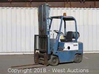 Clark 4,500 Capacity Propane Forklift