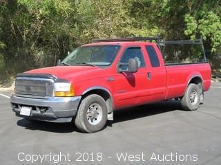 2001 Ford F-350 Power Stroke Turbo Diesel Pickup Truck