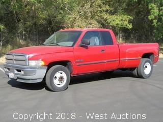 1998 Dodge Ram 3500 Cummins Turbo Diesel Dually Pickup Truck