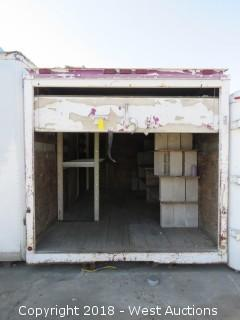 14' x 8' Box Truck Container