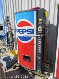 Pepsi Soda Dispensing Machine (For Parts)