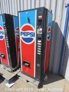 Pepsi Soda Dispensing Machine (For Parts)