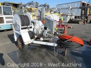 "Harben Trailer Jetter with 28"" Power Brush"