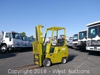 Clark 2,100 Lbs Capacity Propane Forklift