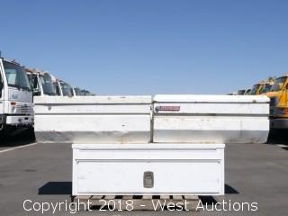 (3) Steel Truck Boxes